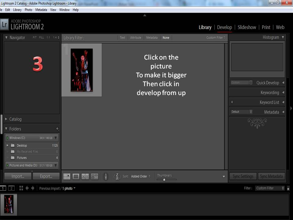 How to use Adobe light room ? (4/6)
