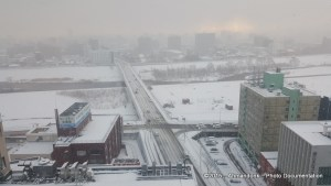 View dari Lantai 17 Art Hotels Sapporo