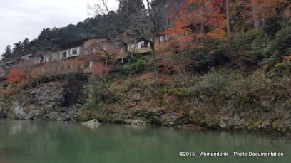 Hozu-gawa River Boat