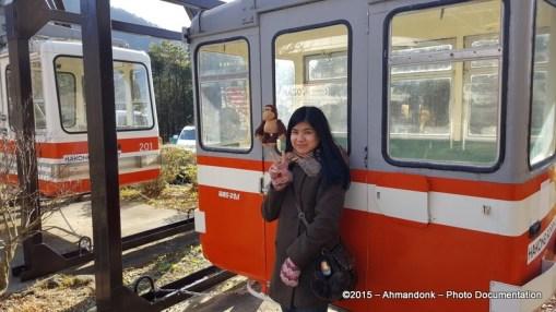 Hakone Ropeway - Ubako Station