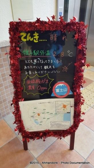 Hakone Ropeway - Togendai Station