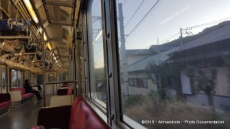 Hakone Tozan Train ke Odawara Station