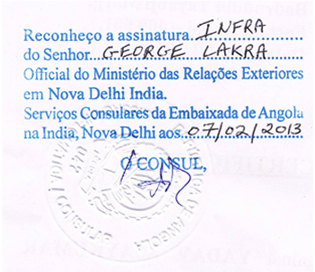 Agreement Attestation for Angola in Wankaner, Agreement Legalization for Angola , Birth Certificate Attestation for Angola in Wankaner, Birth Certificate legalization for Angola in Wankaner, Board of Resolution Attestation for Angola in Wankaner, certificate Attestation agent for Angola in Wankaner, Certificate of Origin Attestation for Angola in Wankaner, Certificate of Origin Legalization for Angola in Wankaner, Commercial Document Attestation for Angola in Wankaner, Commercial Document Legalization for Angola in Wankaner, Degree certificate Attestation for Angola in Wankaner, Degree Certificate legalization for Angola in Wankaner, Birth certificate Attestation for Angola , Diploma Certificate Attestation for Angola in Wankaner, Engineering Certificate Attestation for Angola , Experience Certificate Attestation for Angola in Wankaner, Export documents Attestation for Angola in Wankaner, Export documents Legalization for Angola in Wankaner, Free Sale Certificate Attestation for Angola in Wankaner, GMP Certificate Attestation for Angola in Wankaner, HSC Certificate Attestation for Angola in Wankaner, Invoice Attestation for Angola in Wankaner, Invoice Legalization for Angola in Wankaner, marriage certificate Attestation for Angola , Marriage Certificate Attestation for Angola in Wankaner, Wankaner issued Marriage Certificate legalization for Angola , Medical Certificate Attestation for Angola , NOC Affidavit Attestation for Angola in Wankaner, Packing List Attestation for Angola in Wankaner, Packing List Legalization for Angola in Wankaner, PCC Attestation for Angola in Wankaner, POA Attestation for Angola in Wankaner, Police Clearance Certificate Attestation for Angola in Wankaner, Power of Attorney Attestation for Angola in Wankaner, Registration Certificate Attestation for Angola in Wankaner, SSC certificate Attestation for Angola in Wankaner, Transfer Certificate Attestation for Angola