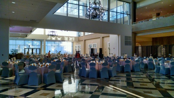 The reception venue