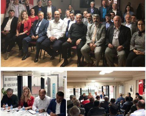CHP PARTİ MECLİSİ ÜYESİ GAMZE PAMUK ATEŞLİ KASTAMONU ÖRGÜT TOPLANTISI
