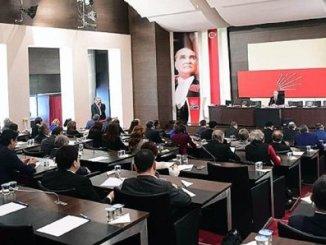 CHP PARTİ MECLİSİ TOPLANTISI