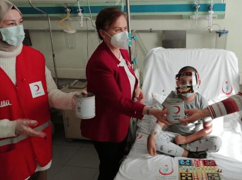 GENC KIZILAY DOC DR ELIF GULER KAZANCI VE HEMOFILI HASTASI COCUKLAR