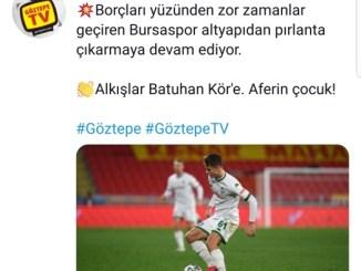 GOZTEPE TV BATUHAN KOR PAYLASIMI