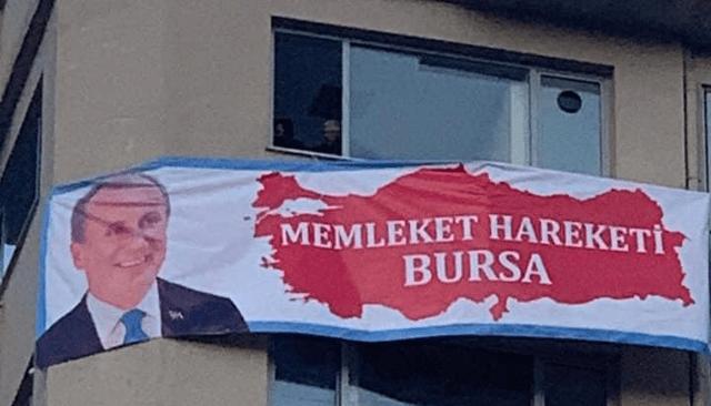 MEMLEKET PARTiSi BURSA iL BASKANLIGI