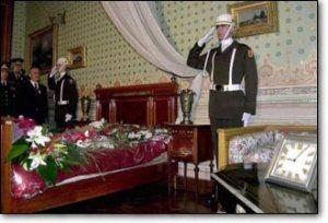 10 Kasım 1938, Dolmabahçe'de öldüğü oda