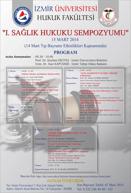 1._Saglik_Hukuku_Simpozyumu_Izmir_15.3.14