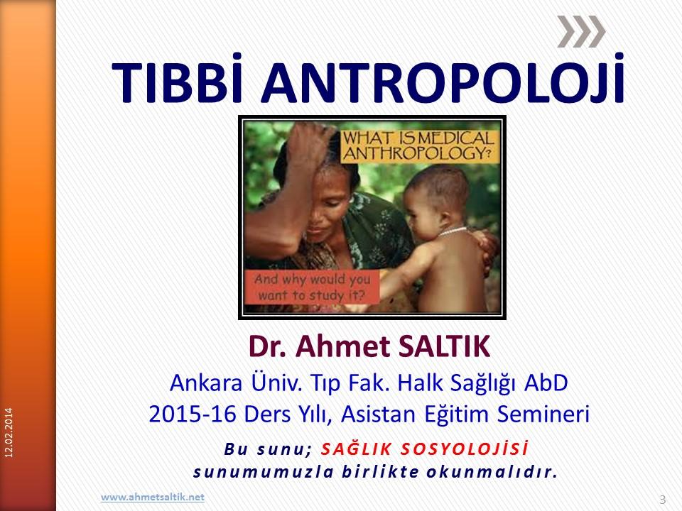 Ankara Üniversitesi Tıp Fakültesi Halk Sağlığı Anabilim Dalı