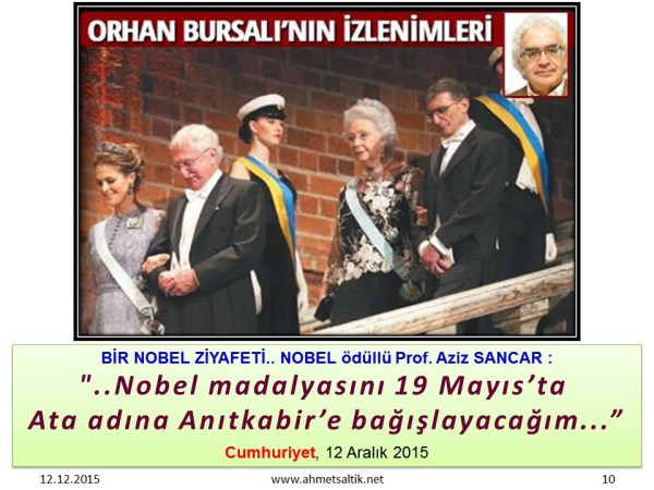 NOBEL_odulunu_ATA'ya_adayacagim_AZIZ_SANCAR