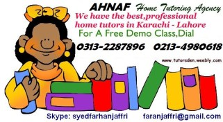 english literature home tutor in karachi lahore tuition academy private teacher in dha clifton private schools