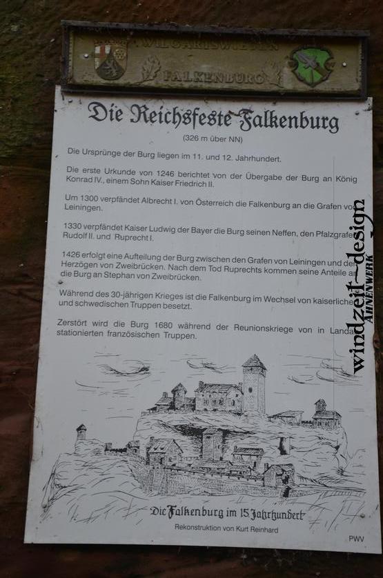 Wilgartswiesen, Falkenburg