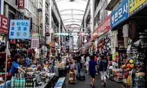 Seomun market, one of the main traditional markets in Daegu