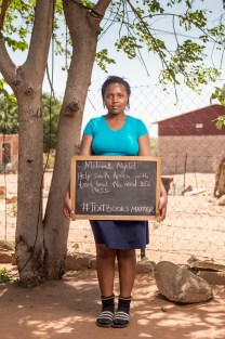 Help South Africa with Textbooks, we need 80% pass. #TextbooksMatter Image: Thom Pierce