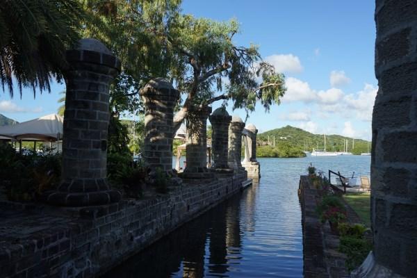 UNESCO Weltkulturerbe - Nelson's Dockyard Museum - Gartenanlage
