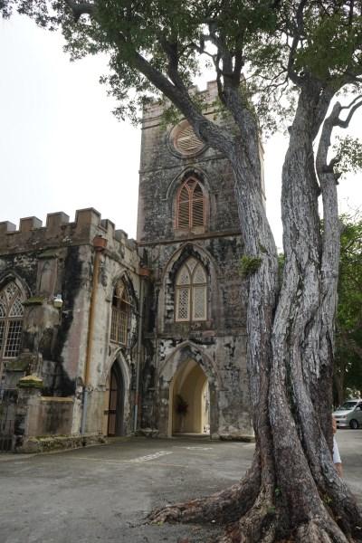 Barbados - St. John's Church - älteste Kirche auf Barbados