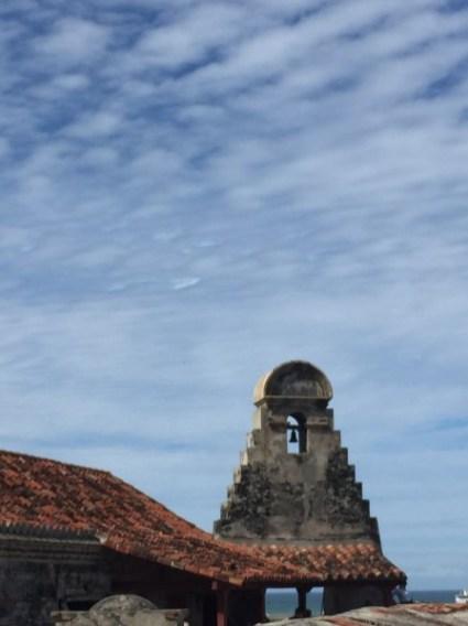 Castillo San Felipe de Barajas - Glockenturm