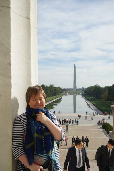 Vereinigten Staaten von Amerika - Kathy unterwegs in Washington