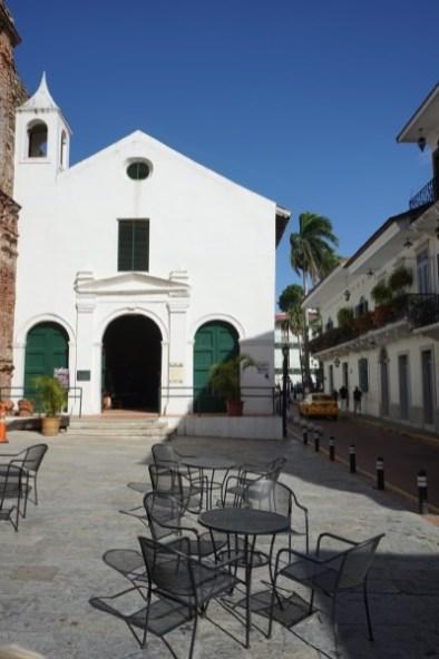 Panama City - Altstadt - Casco Viejo - Iglesia de la Compañía de Jesús