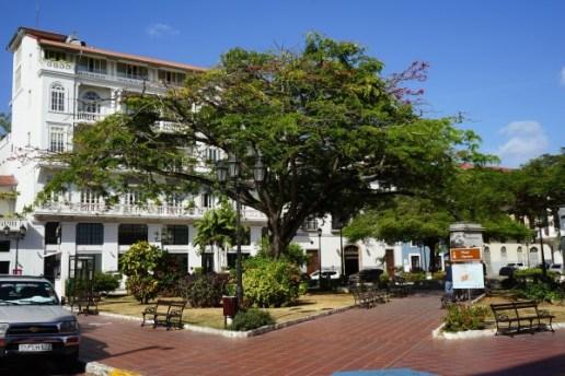 Panama City - Altstadt - Casco Viejo - Plaza Tomás Herrera