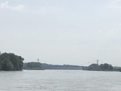 Auf der Donau