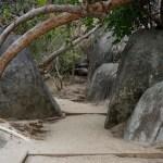 Insel Virgin Gorda bei The Bath - es geht wieder bergauf