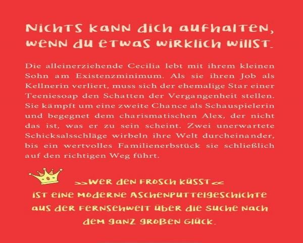 Buchrücken - Wer den Frosch küsst - Konstanze Harlan