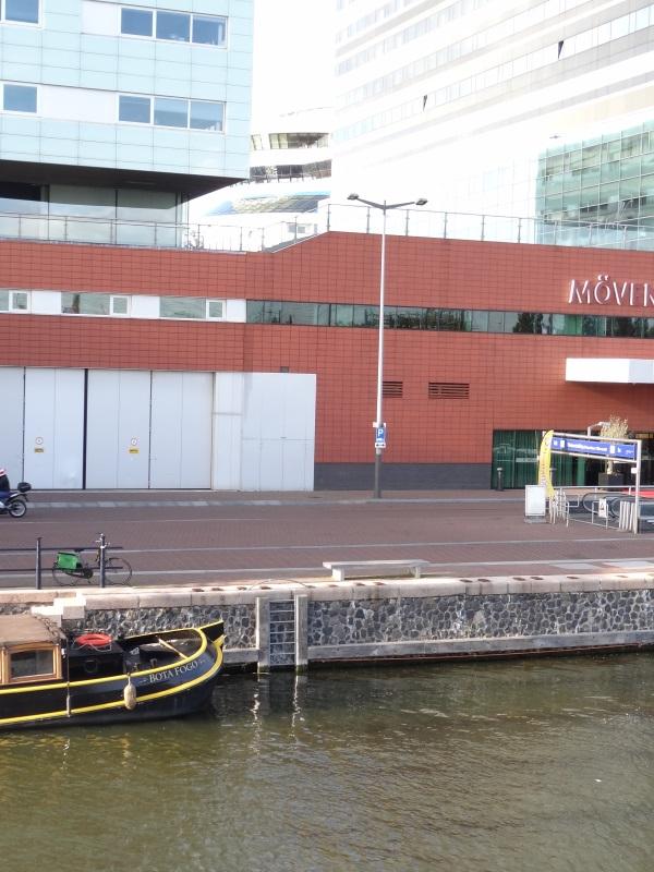Amsterdam - Blick zurück an Land