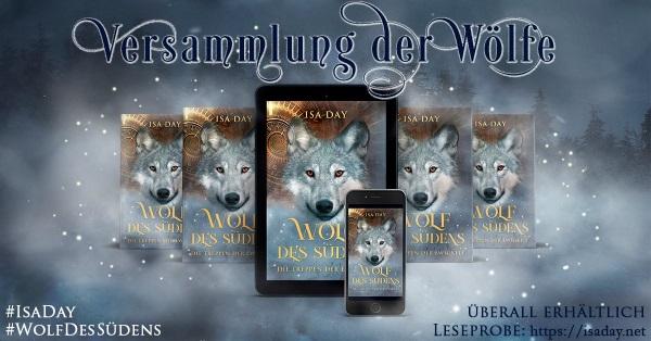 Buch Tipp Wolf des Südens von Isa Day