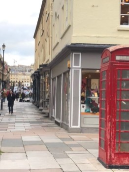 Telefonzelle in Bath