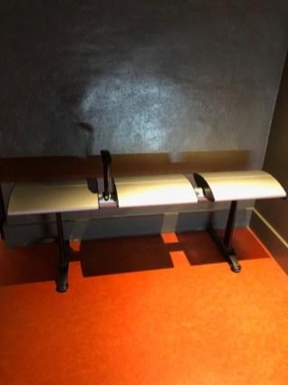 Sitzgelegenheit im Museum