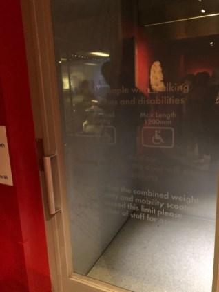 Aufzug im Museum
