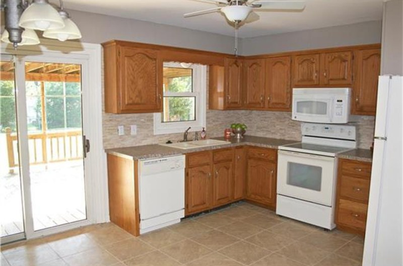 General Finishes Gel Stain Kitchen Cabinet Makeover
