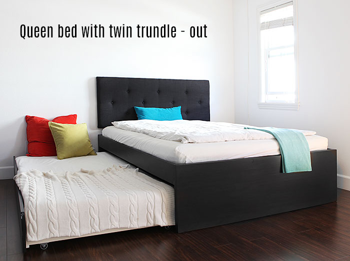 Image Result For Twin Size Bed With Pull Out Bed Underneath