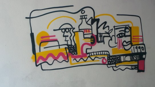 Spray paint seen in Barcelona