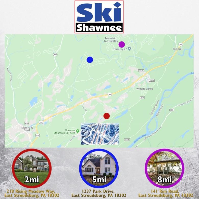 Shawnee Map Layout