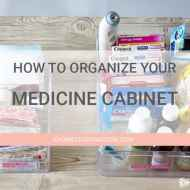 How to Organize Medicine in Your Linen Closet