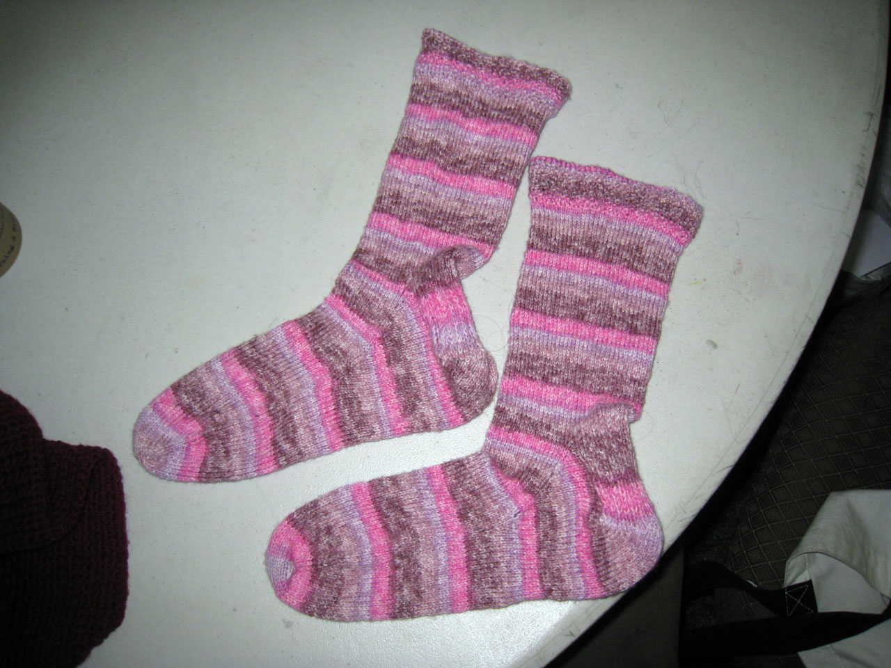 One Skein Short Paula's Socks