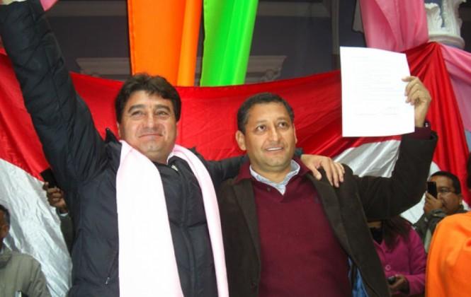Foto archivo. Jhonny Torres y Oscar Montes.