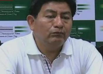 El diputado del Movimiento al Socialismo (MAS), Edgar Montaño. Foto Archivo
