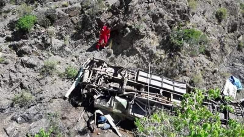 Bus se embarranca en la carretera Tarija -Potosí y deja 13 muertos
