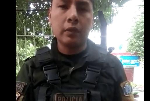 """El video del abuso policial a dos jóvenes en Yacuiba: """"extorsión, coima, golpes y violación de derechos humanos"""""""