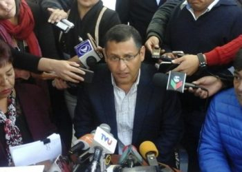 El ex Alcalde, Oscar Montes
