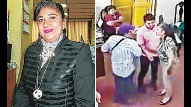 Alcaldesa que insultó a periodista ejerce con detención domiciliaria