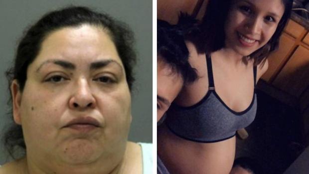 La acusada de matar y arrancar el bebé del vientre de una embarazada posó en fotos con el recién nacido
