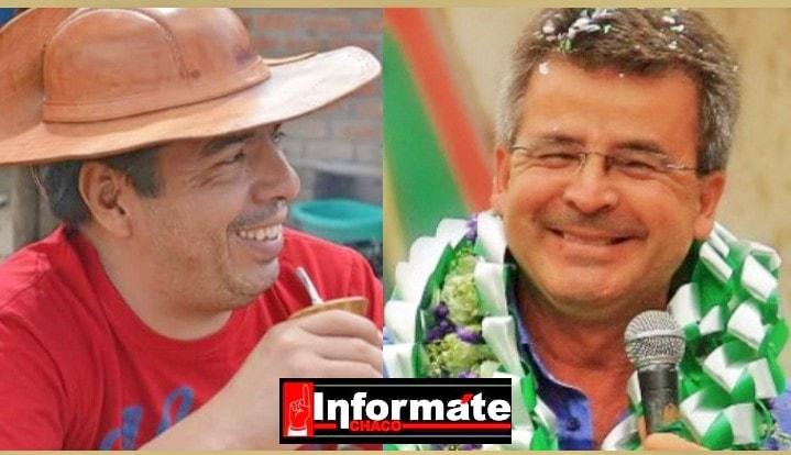 Wilman Cardozo y Carlos Brú