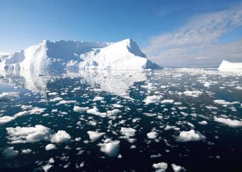 Se cree que deshielo es una de las consecuencias del calentamiento climático, según la Organización Meteorológica Mundial